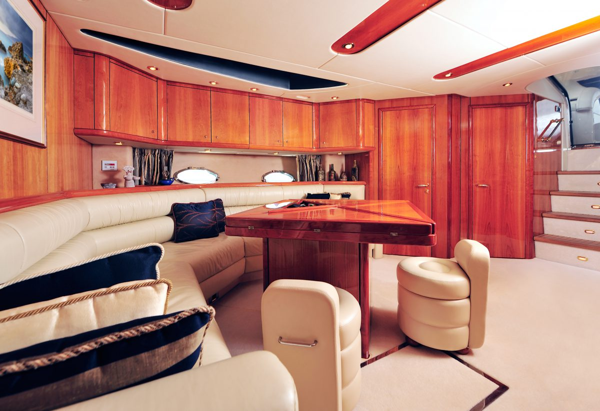 Luxury yacht interior Atollvic