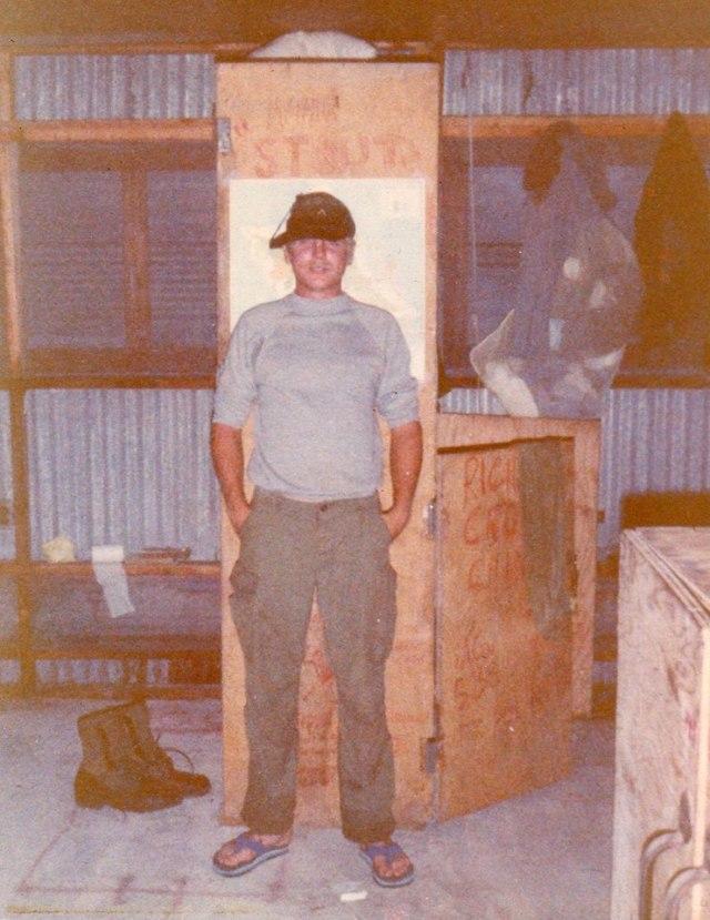 Steve Harrison at Enewetak Atoll, Marshall Islands