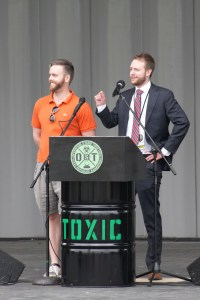 5/20/17 Operation Stand Together Sylvan Theater National Mall Washington DC D.C. Atomic Cleanup Vets Veterans Mike Saunders & Chris Neiweem