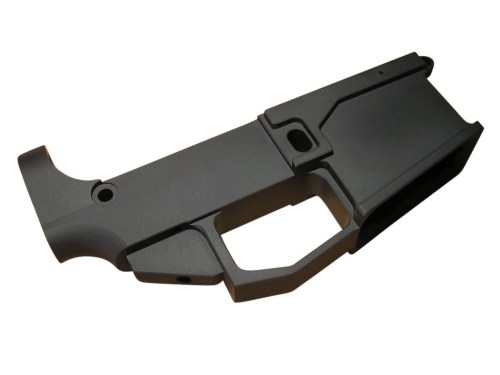 80% Black Billet Lower AR15