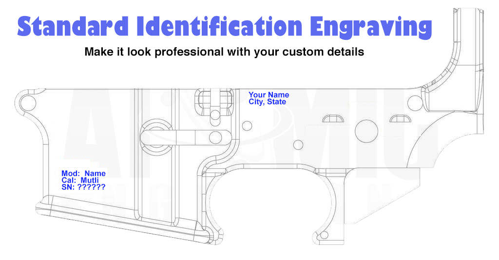 AR15 80% Identification Engraving