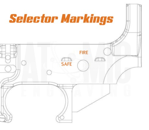 Safety Selector engraving