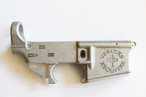 Veritas Aequitas Laser Engraved 80% Lower