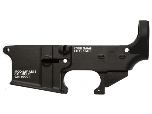 Ca Compliance 80% AR15 Lower