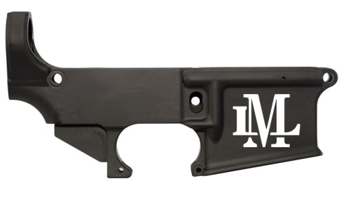 custom laser engraved Monogram lower receiver 80%