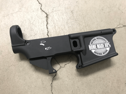 Home Made 80% custom engraved lower receiver.