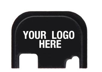 Custom logo design on your Glock Slide