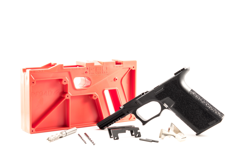 80% PF45 Glock 20/21 Pistol Frame with Identification Engraving - Atomic  Engraving - Custom Laser Engraving Services