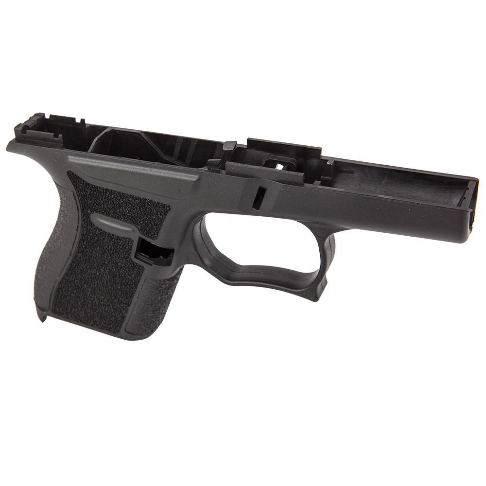 80% SS80 Glock 43 Pistol Frame (TEXTURED BLACK) - Atomic Engraving ...