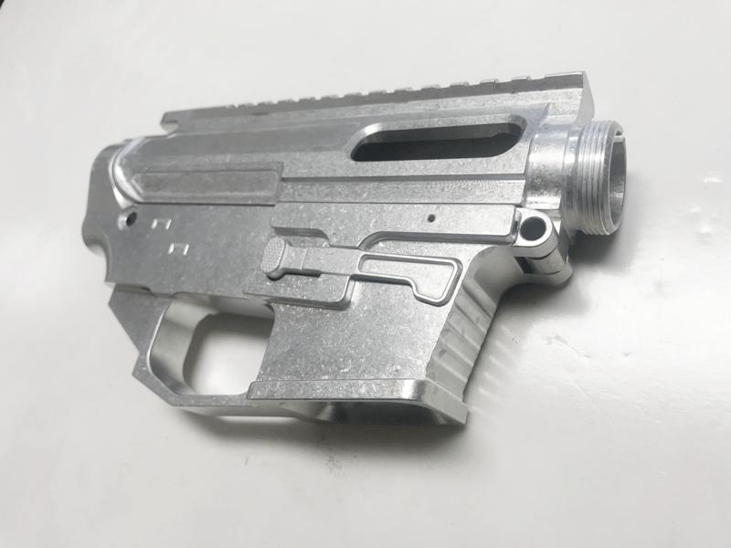 ar15 80 9mm dp 9 glock mag lower upper receiver set raw
