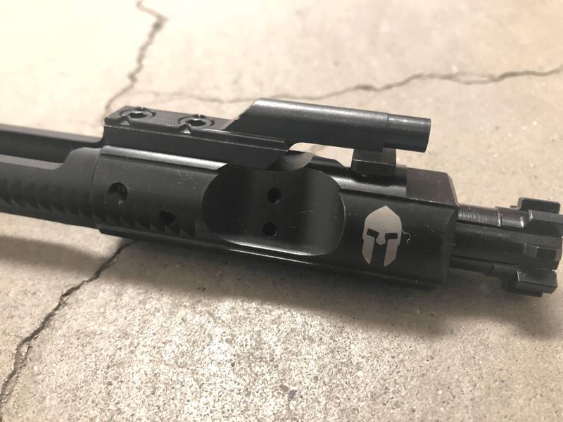 AR15 Gladiator Engraved BCG