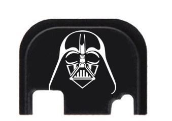 star Wars end plate Darth Vader