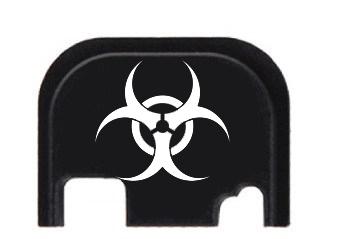 Custom Engraved Biohazard