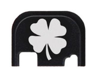 4 leaf clover glock slide end plate