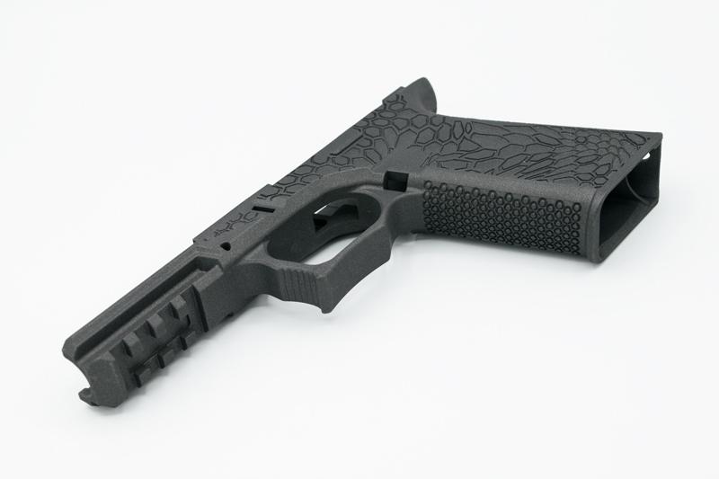 Stippled Glock Frame 80%