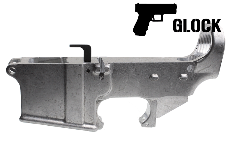 80% Forged Glock Mag Lower