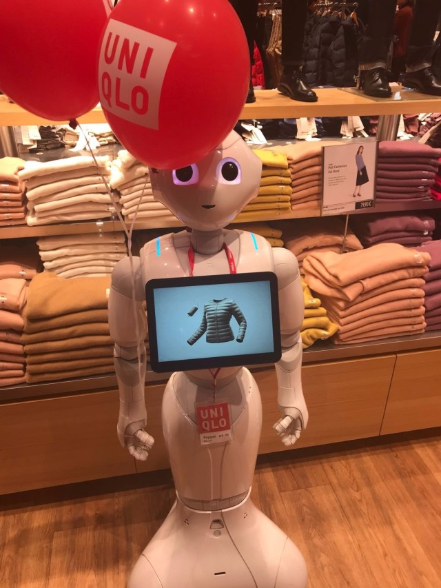 Pepper Uniqlo