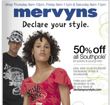 Bankruptcy is the Fashion? Mervyns Fails to Declare its Style