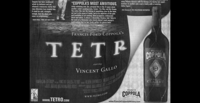Tetro Coppola Ad