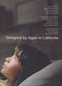 Apple Designed in California Ad