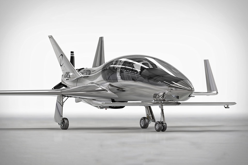 Airborne Identity: The Cobalt Valkyrie Personal Aircraft