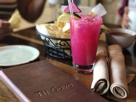 Dining at Tii Gavo in Sedona, Arizona