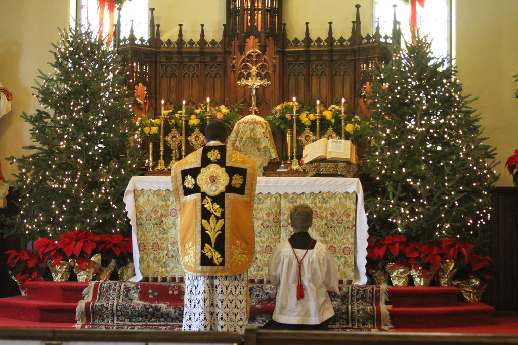 Christmas Eve Mass In The Night Franciscan Friars Of The