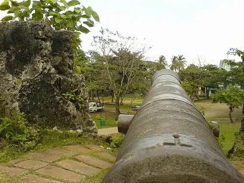 Fort de San Pedro Historic Cannon