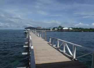 Beautiful Entry Way to Gilutongan Island