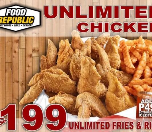 Unlimited Chicken Wings in Cebu