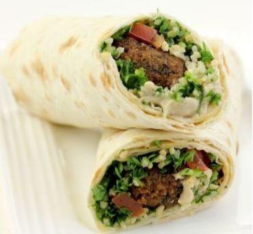 Tabouleh & Falafel Lavash Wrap