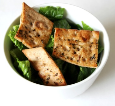 Italian Lavash Croutons
