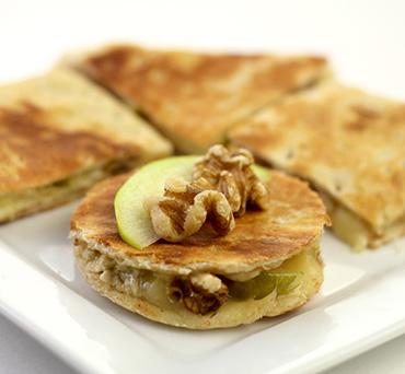 Apple Brie Lavash Panini