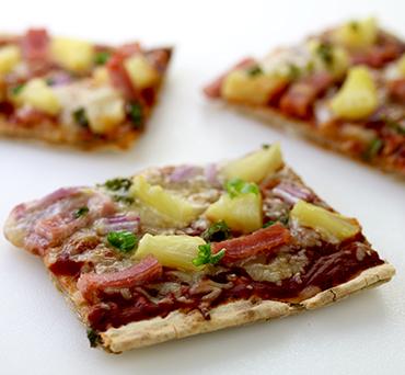 Hawaiian Lavash Pizza