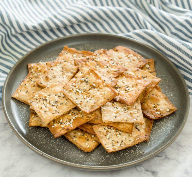 Lavash Seed Crackers