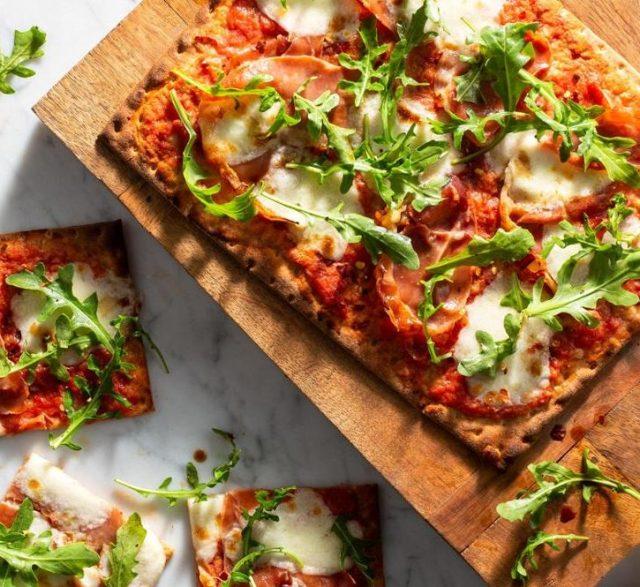 Prosciutto Lavash Pizza