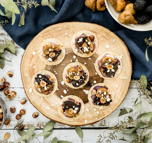 Fig Hazelnut Lavash Rounds