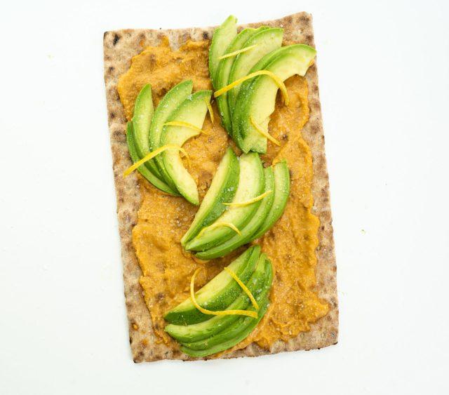 Avocado & Hummus Mini Lavash