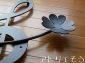 アルミ製妻飾りJタイプ おしゃれで人気のロートアイアン風オリジナルアルミ製妻飾りJタイプの写真