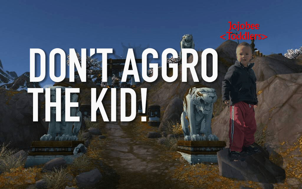 "Don't ""Aggro"" the Kid"