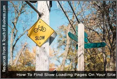 Image of a traffic sign displaying the word slow