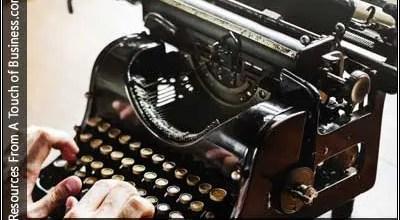 Image of a Typwritter