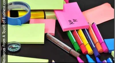 Image of office supplies