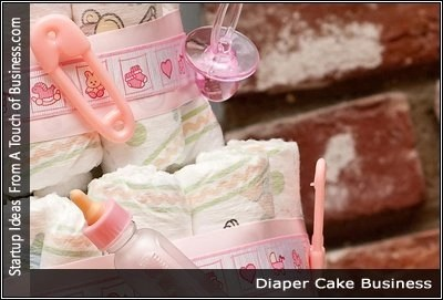 How to start a diaper cake business image of a diaper cake reheart Choice Image