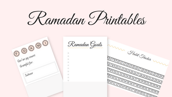 How I M Planning For Ramadan Free Ramadan Printables A Touch Of