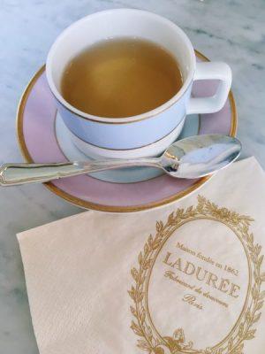 Breakfast & Tea at Laduree – A Touch of Tulle