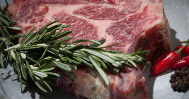 beef and rosemary