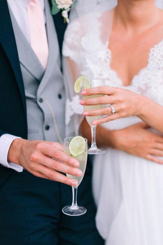 Cocktail mariés wedding planner