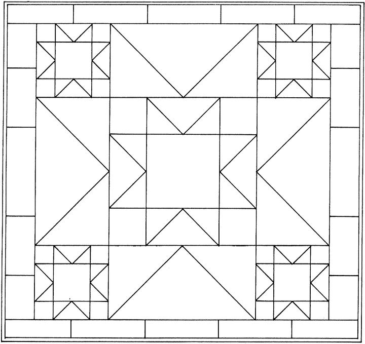 Star Quilt Coloring Pages Free Lone Star Quilt Coloring Pages Lone