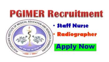 PGI Chandigarh Nursing Recruitment